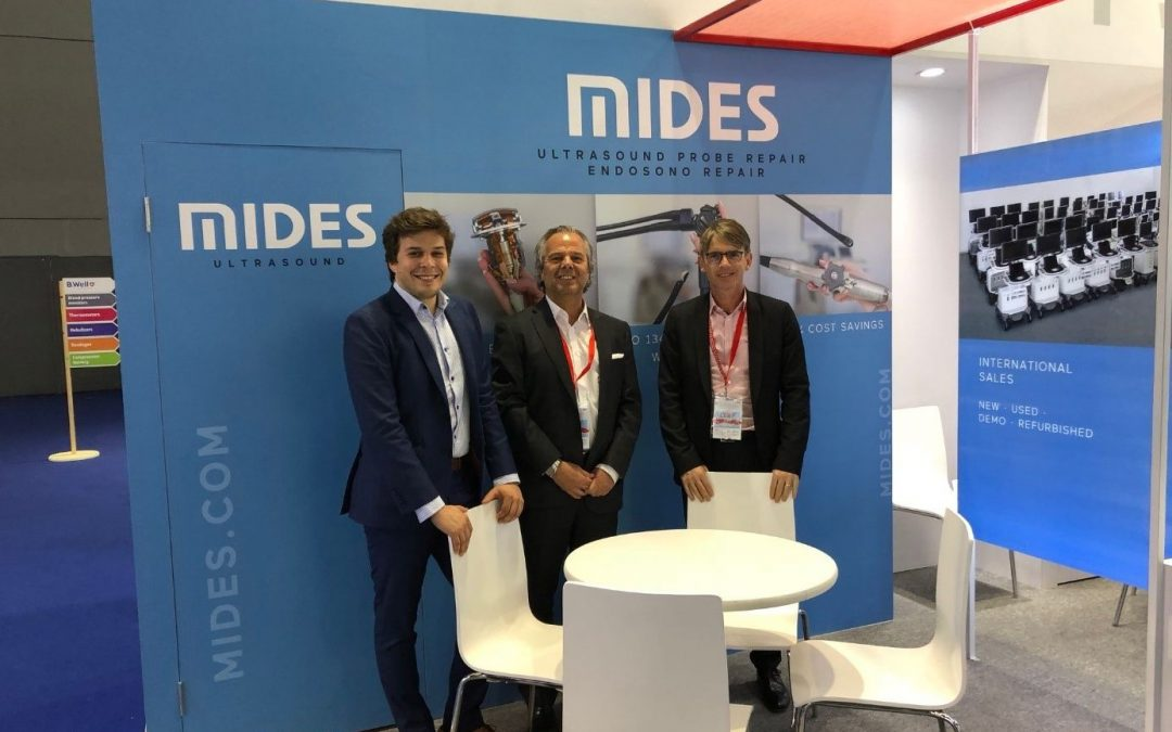 Mides at 77th CMEF Spring 2018, China International Medicinal Equipment Fair, Shanghai